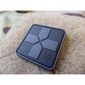 Nášivka RedCross Medic 40 mm JTG® – BlackOps (Barva: BlackOps)