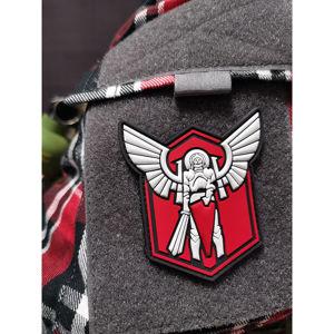 Nášivka Archangel Saint Michael shield JTG® – Červená (Barva: Červená)