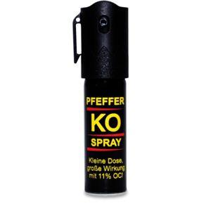 Obranný pepřový sprej Klever® KO JET 15 ml (Barva: Vícebarevná)