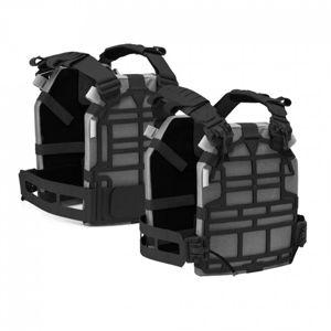 Nosič plátů Kirys 2.0 Husar® – Černá (Barva: Černá, Velikost: M)