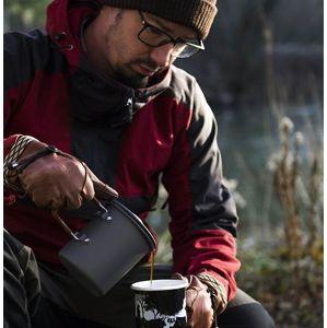 Hrnek French Press Coffee 600 ml Helikon-Tex® (Barva: Šedá)