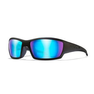 Střelecké brýle Wiley X® Tide – Černá (Barva: Černá, Čočky: Modré polarizované)
